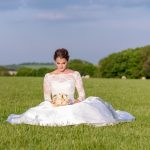 Bride in the South Downs