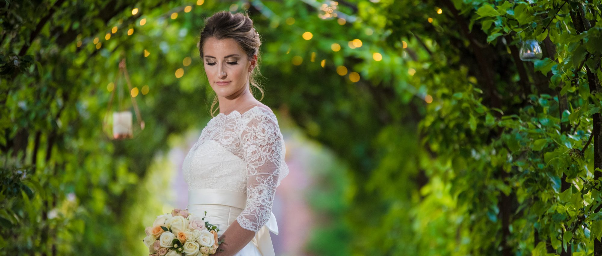 Bride shot in Walled Garden
